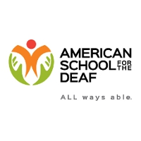 American School for the Deaf Logo